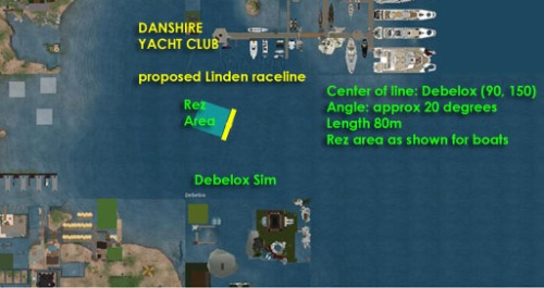 Proposed Debelox Raceline