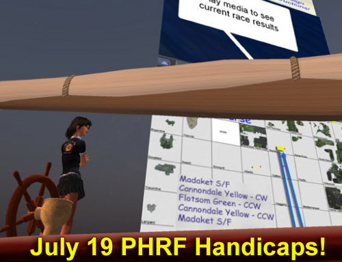 phrf handicaps july 19 2009