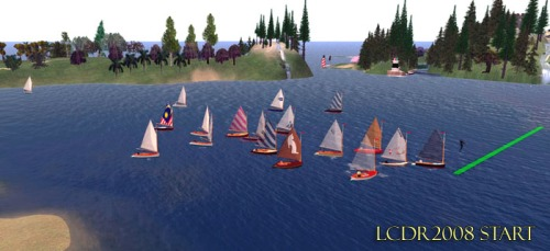 2008 Start with Eighteen Boats!