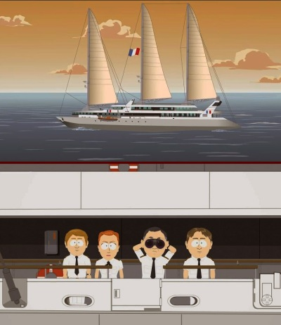 Oceanis 300 - SouthPark Edition