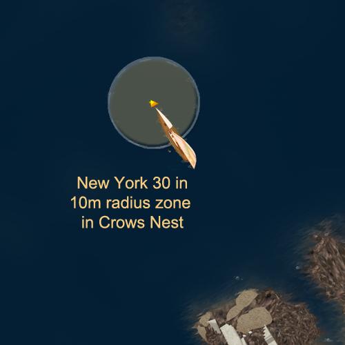 NY30 in 10m mark zone
