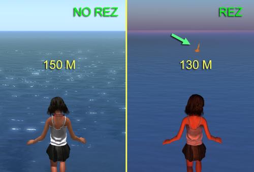 buoys rez at 130m