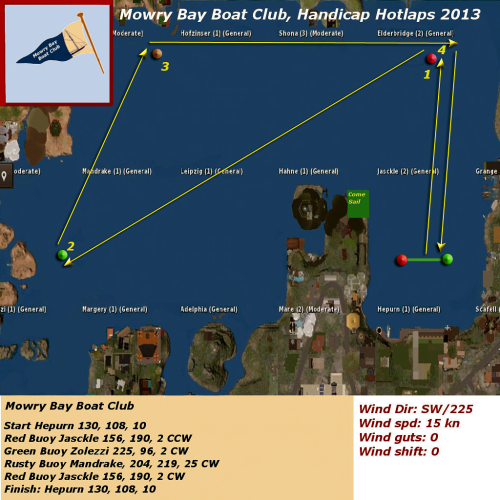 Mowry Bay Boat Club Hotlaps 2013
