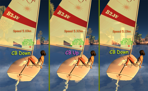 laser centerboard downwind