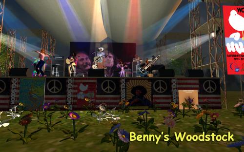 benny woodstock