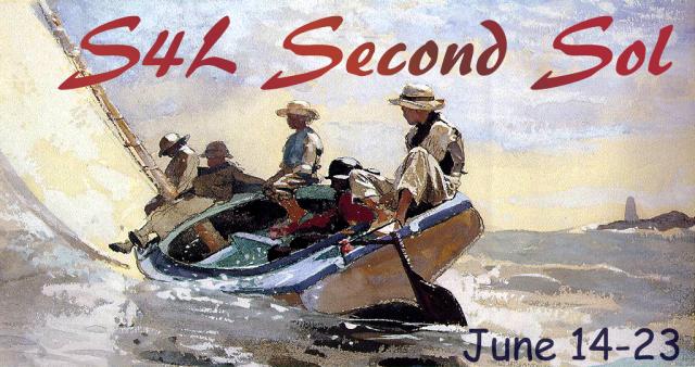 S4L Sec Sol Sailing the Catboat