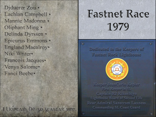 three faces of Fastnet Memorial Oct2013
