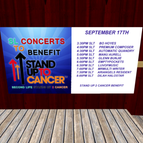Stand Up To Cancer Benefit at Breakers